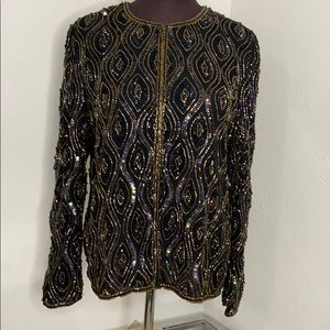 Vintage Sequin beaded blazer